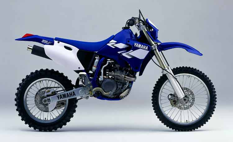 Yamaha Wrf Weight