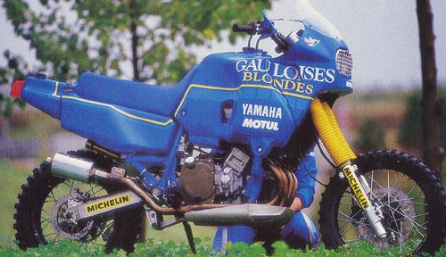 Dakar ... motos eran las de antes