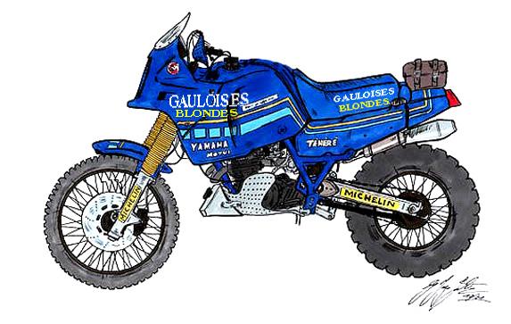 XT 600 TÉNÉRÉ  1986
